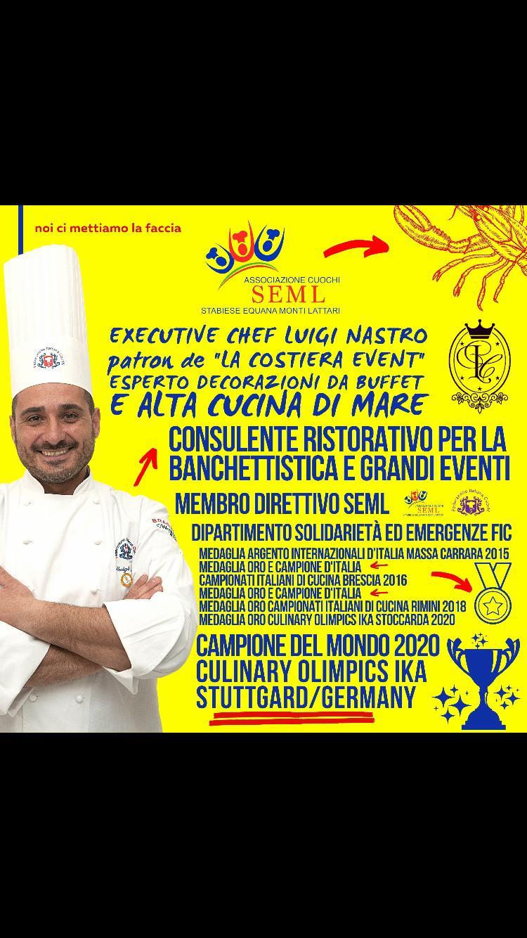 Chef Nastro è campione del mondo